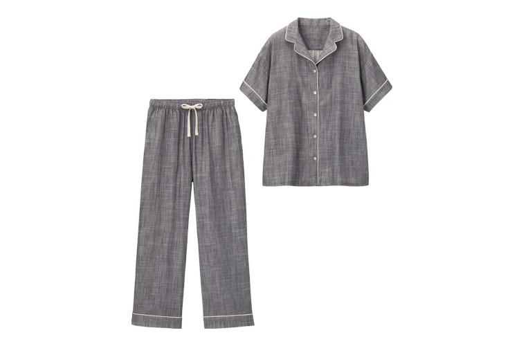 【かわいいルームウェア4】GUのオーガニックコットンパジャマ(半袖)