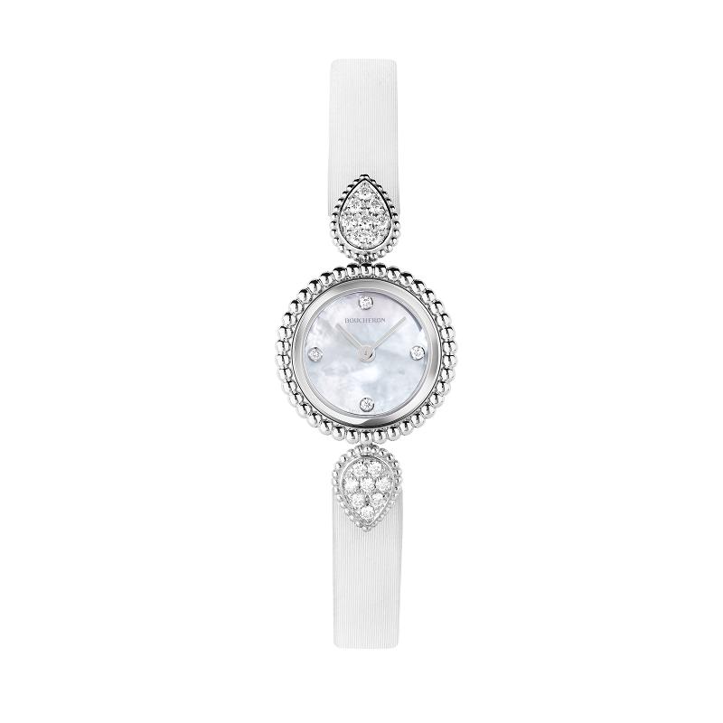 ブシュロン新作時計、ホワイト