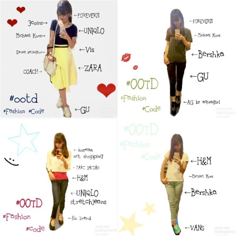 【Code】今週こんなの着てました⋈ 0611week Fashion!!_1