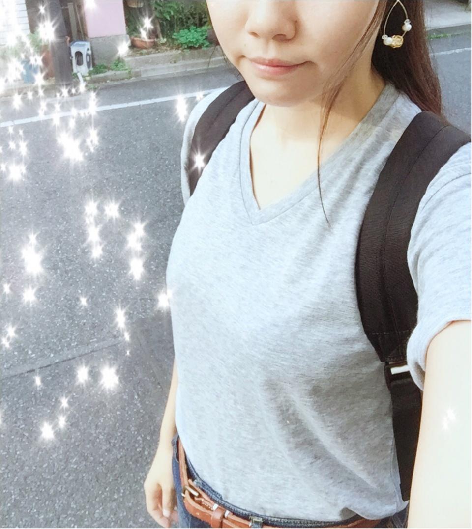 …ஐ Tシャツ王道コーデ!!やっぱり【ジーンズ】が好き♡༓ ஐ¨_4