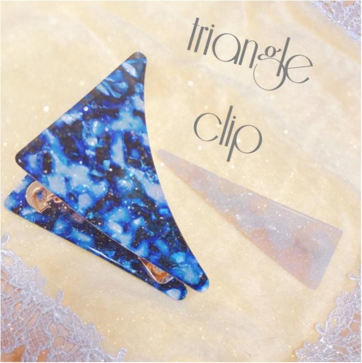 おしゃれさんはみんな持っている⁉︎人気急上昇中の《三角クリップ》を使ったヘアアレンジ3選♡_1