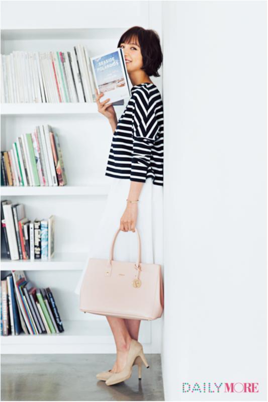 【今日のコーデ/篠田麻里子】新プロジェクトがスタートする木曜日はベビーピンクで運気アップ♡_1