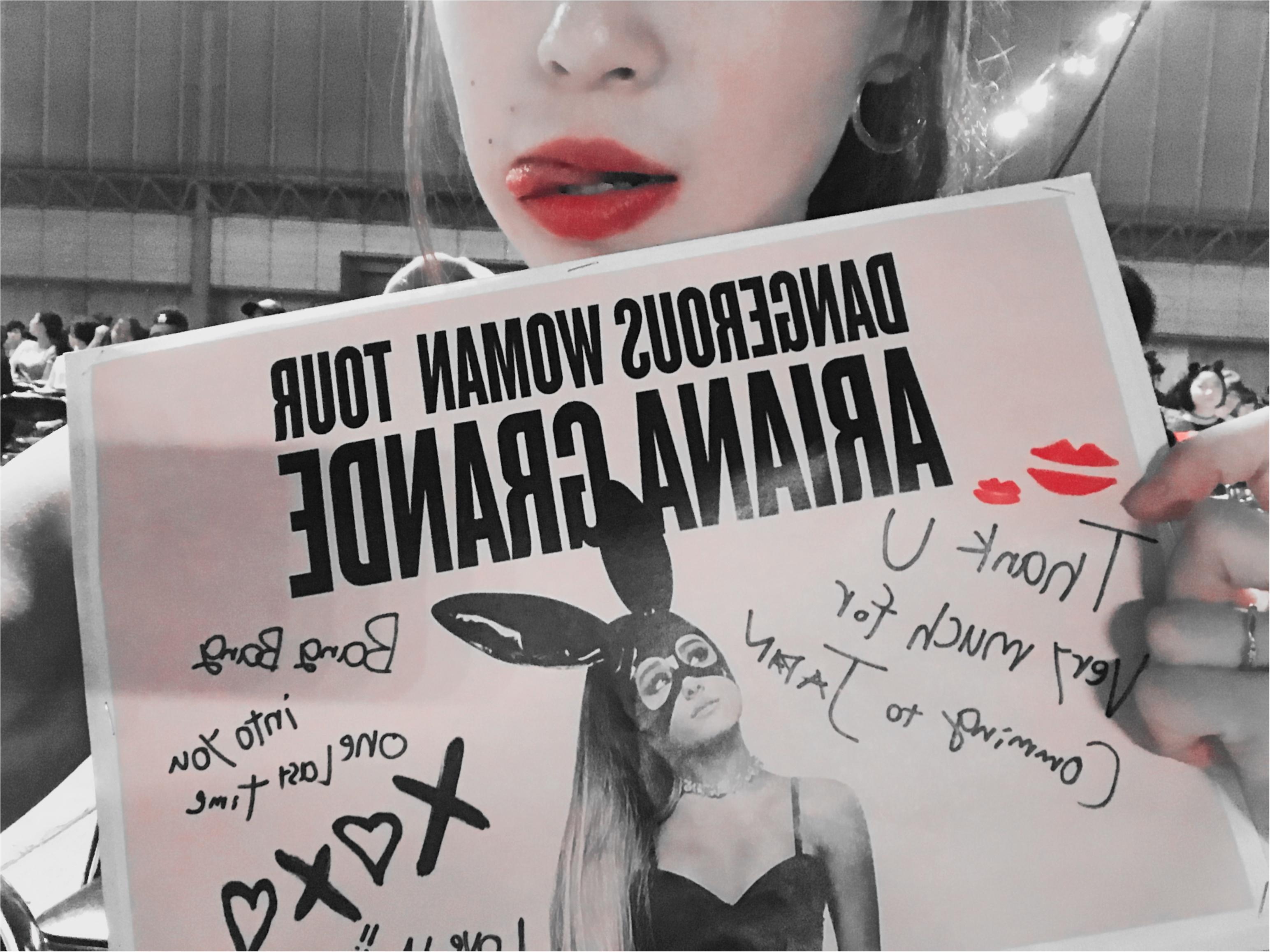 【❤︎❤︎❤︎】アリアナグランデ #dangerouswomantour に行ってきたああああ!!_4