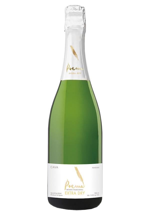 カルディおすすめ白ワイン(泡)「カバ ポエマ エクストラドライ 」