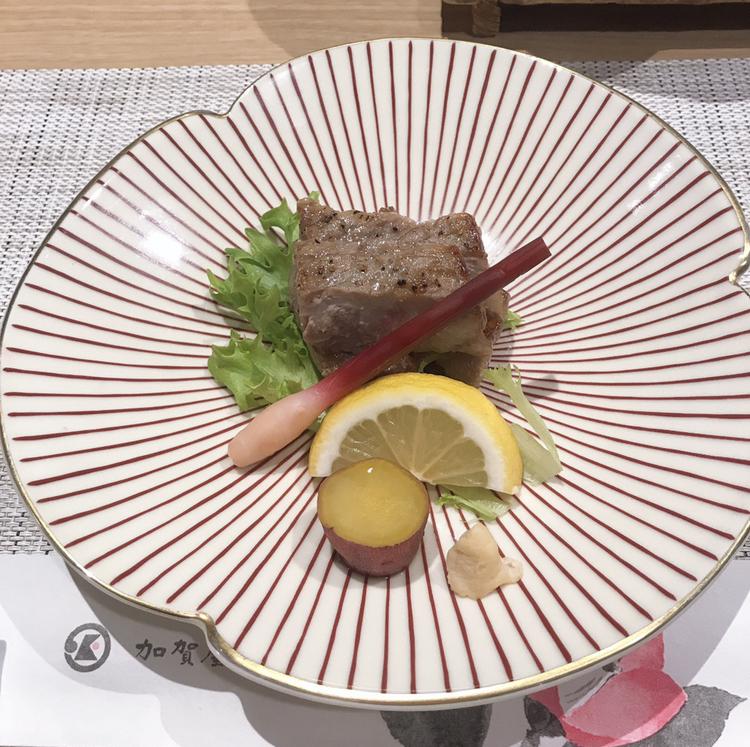 【金沢旅行】加賀屋旅館での夕食_8