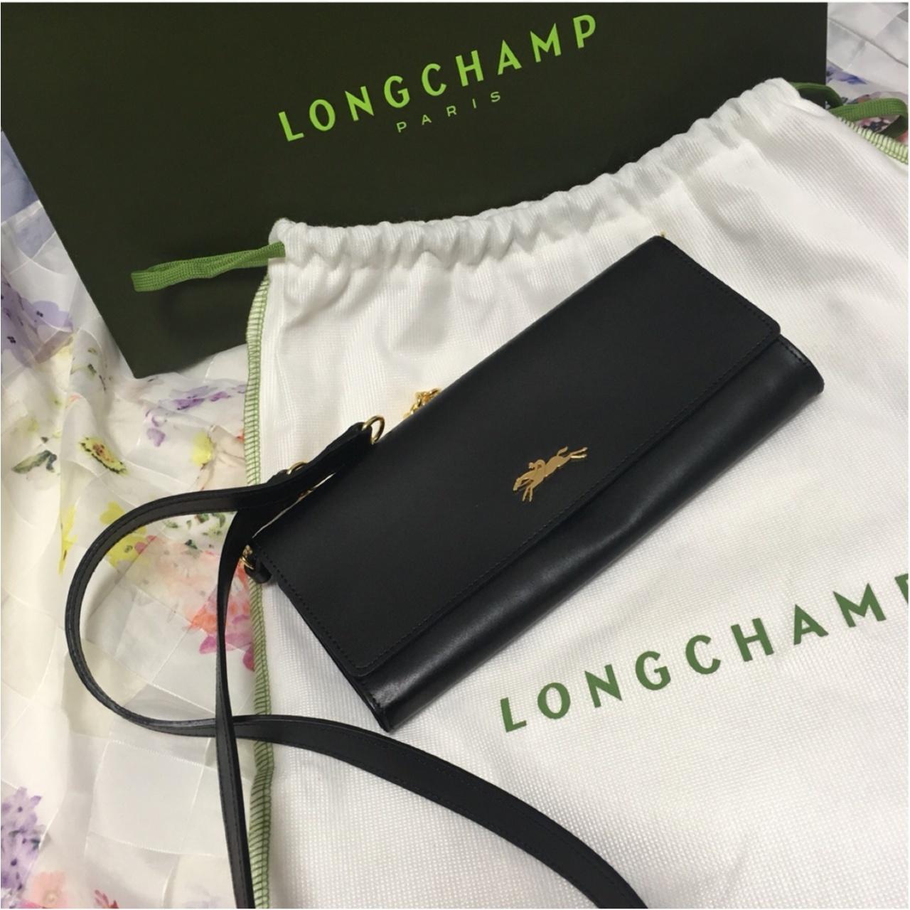 愛してやまない!LONGCHAMPのチェーンウォレット♡2代目をゲットしました♩*_4