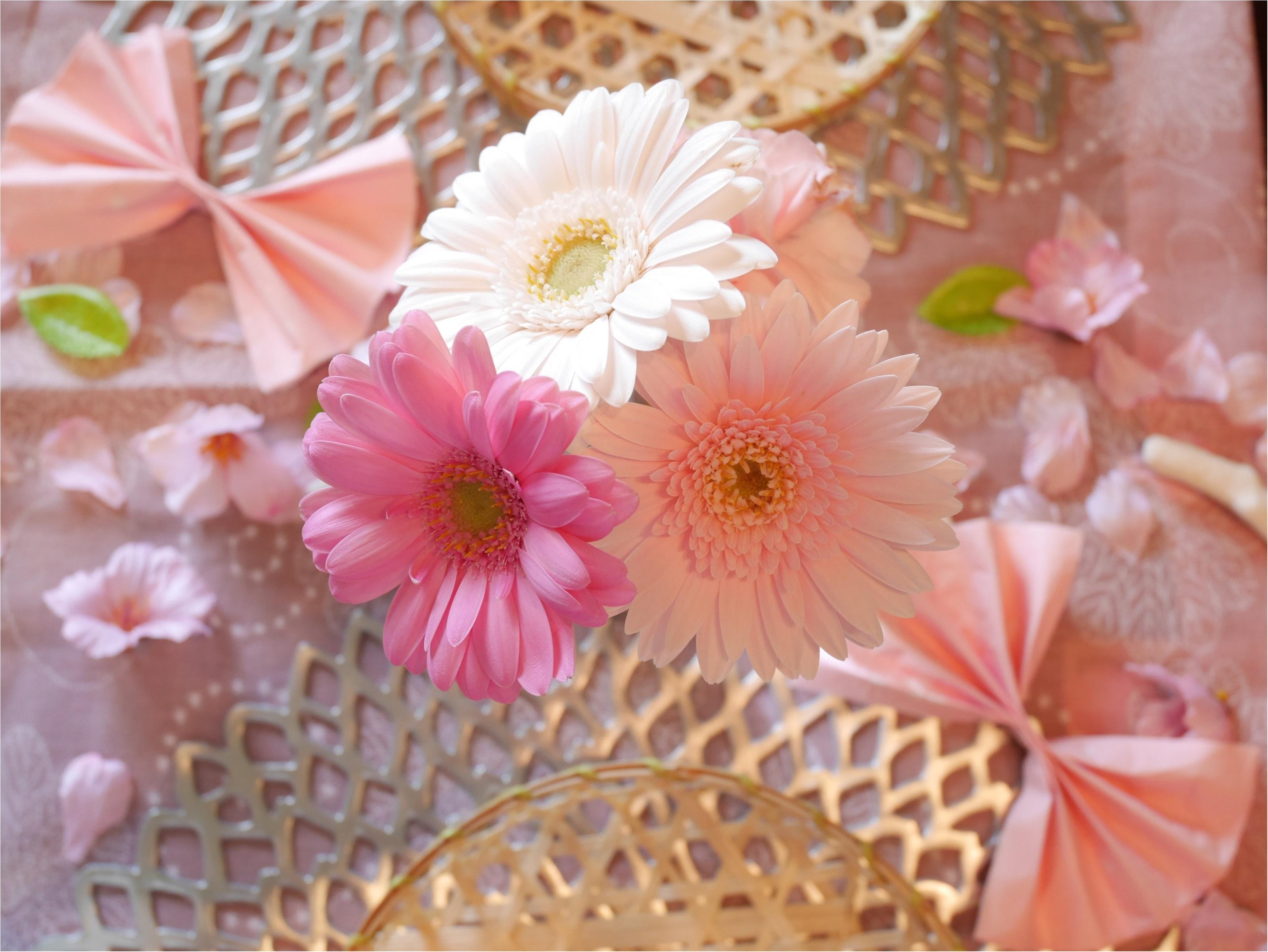 春はスグそこ!「ピンクで華やかにテーブルコーディネートして、手づくりご飯をお家で・・」_1