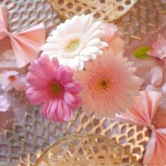 春はスグそこ!「ピンクで華やかにテーブルコーディネートして、手づくりご飯をお家で・・」