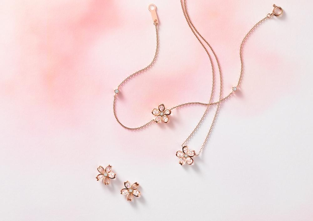 桜色ジュエリーでひと足お先に春爛漫♡『4℃』の「Sakura Collection」が甘すぎなくておしゃれ!_1