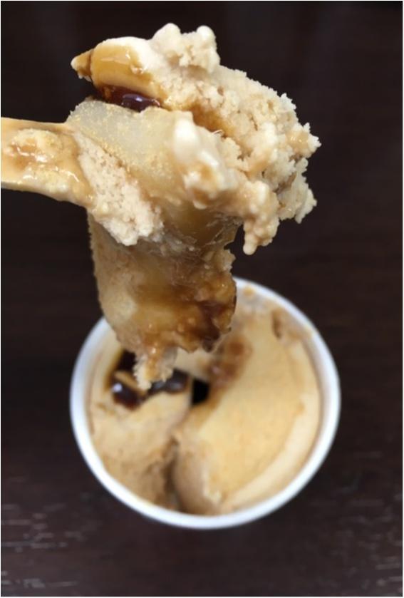 この冬ヒット間違いなし。ゼッタイみんな大好きな信玄餅アイス発見!黒蜜×きなこ×もちの最強アイス❤️_11