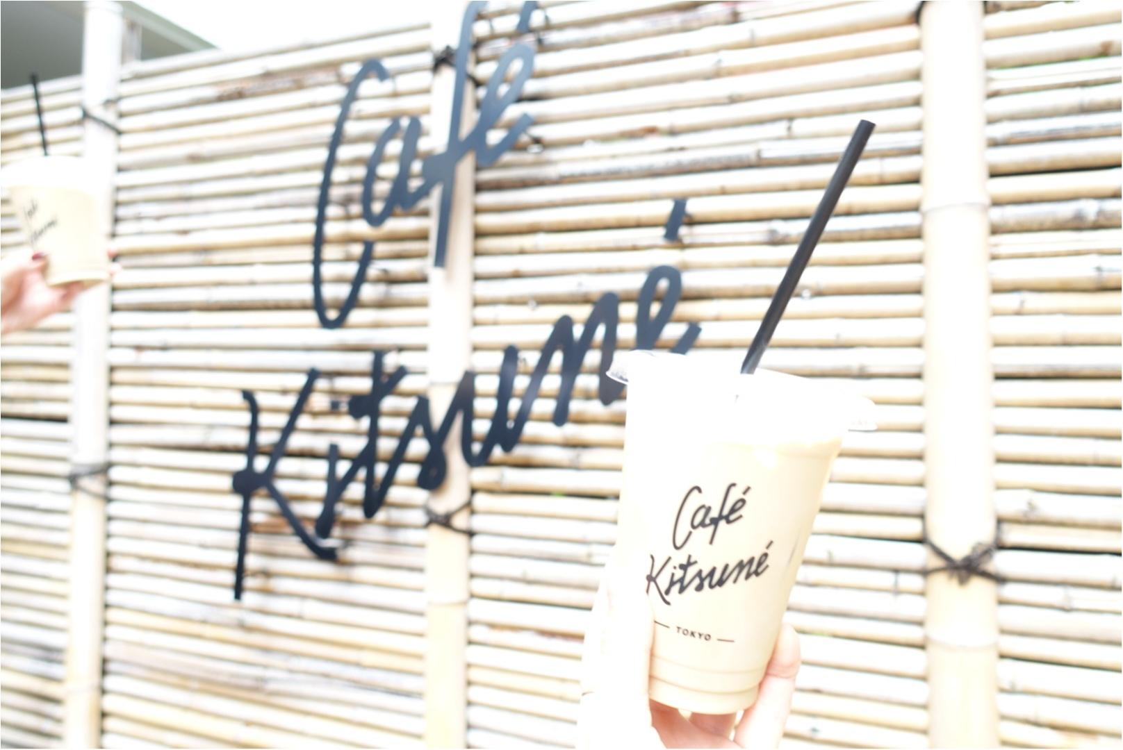 ★表参道にいったらココに行くべし!『cafe kitsune』の京都のような和空間で癒しタイム!_1