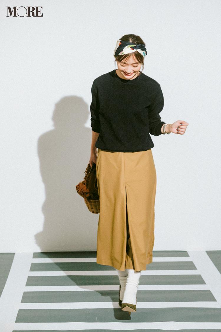 ベージュコーデ特集(20代後半女子向け)- 春におすすめのワンピースやスカート、靴などのコーディネートまとめ_26