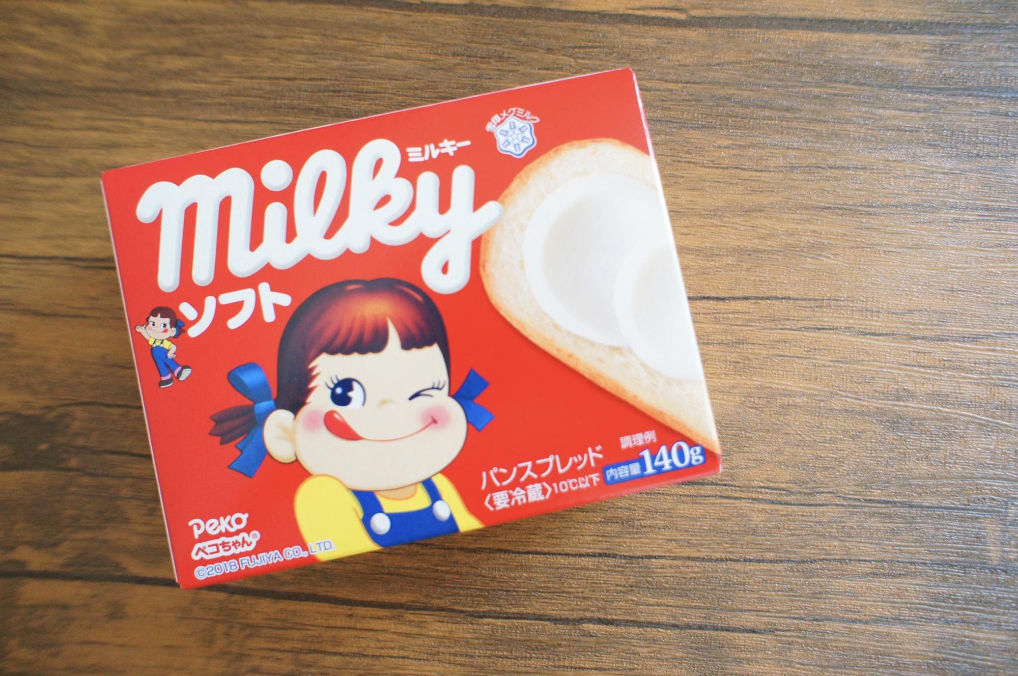 《美味しすぎるパンのお供❤️》【ミルキーソフト】のパンスプレッドにどハマり中☻_1