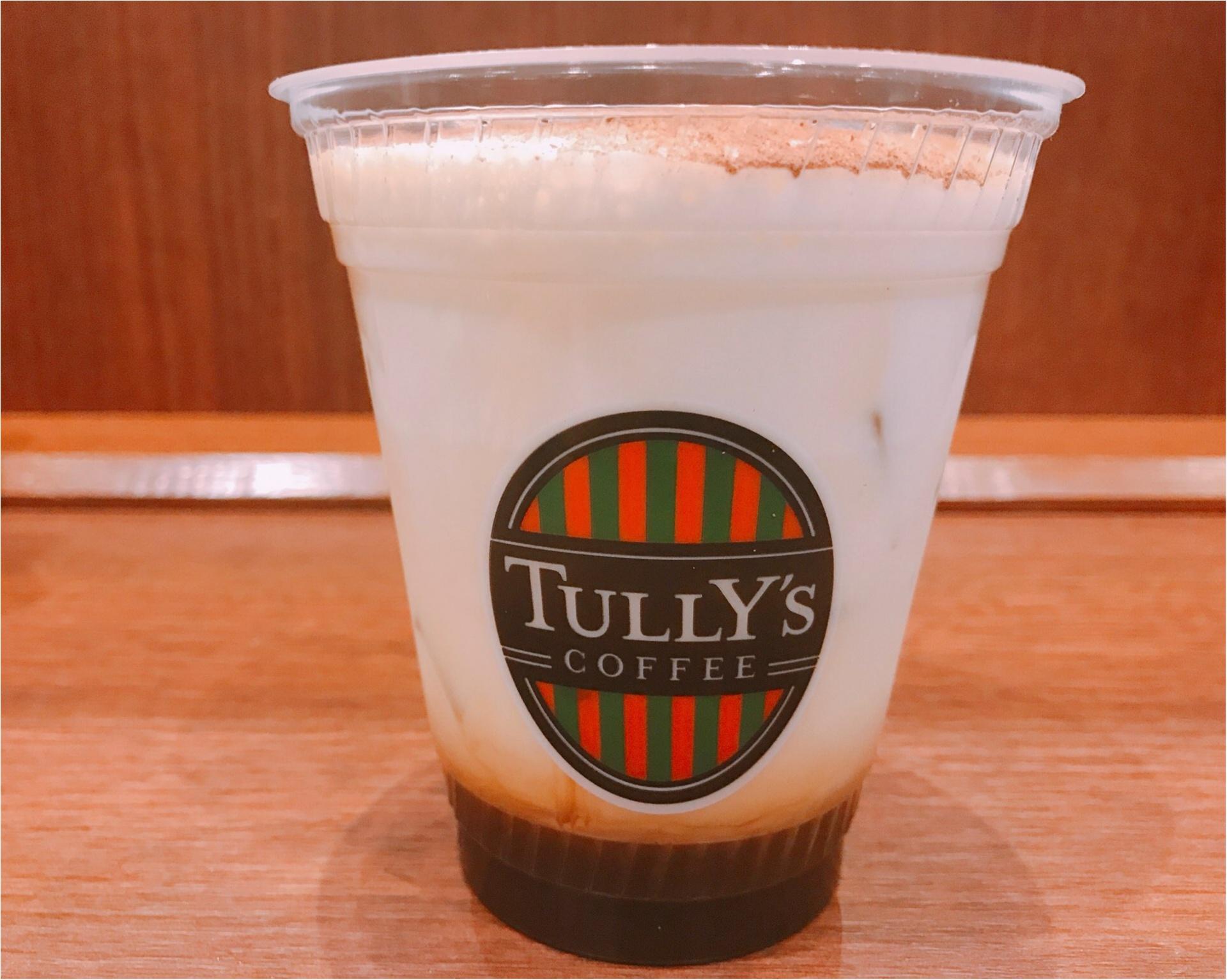 【タリーズ】見た目もティラミスそっくり!ふわっふわのミルクが絶妙❤︎スイーツ感覚で飲める《アイスティラミスカプチーノ》が新発売♡♡_1