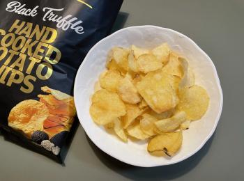 【成城石井で購入】ハンターズの黒トリュフポテトチップスが美味しい!