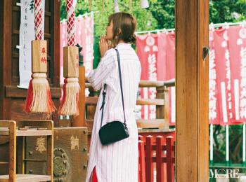 「もう神頼み!! 遠藤先輩と仲良くなりたいです……!」内田理央主演・毎日連載『ミスブラウンの愛され着回し』12日目