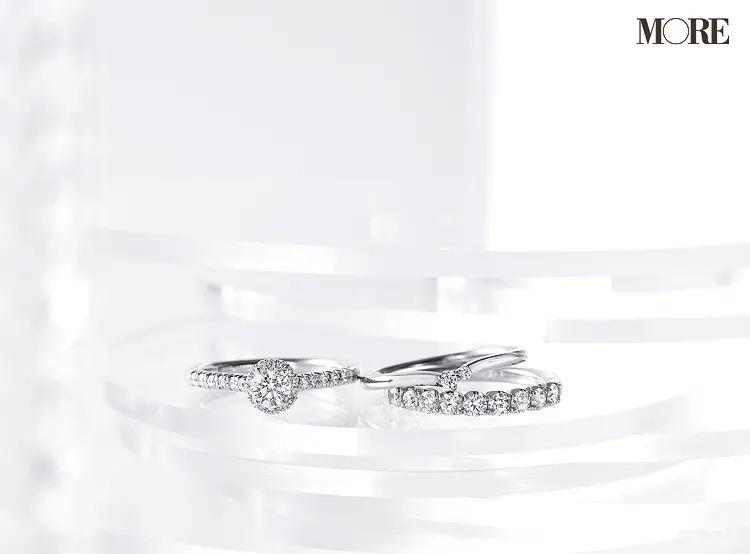 結婚指輪におすすめのレイデューコレクションとブーケコレクションのエタニティリングとマリッジリング