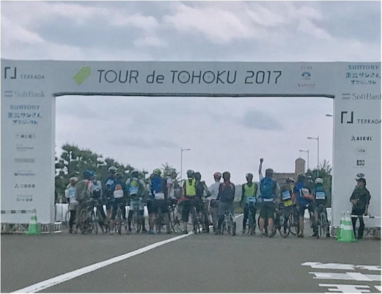 ご報告!!ツール・ド・東北、目標の65キロ完走しました!【#モアチャレ ほなみ】_8