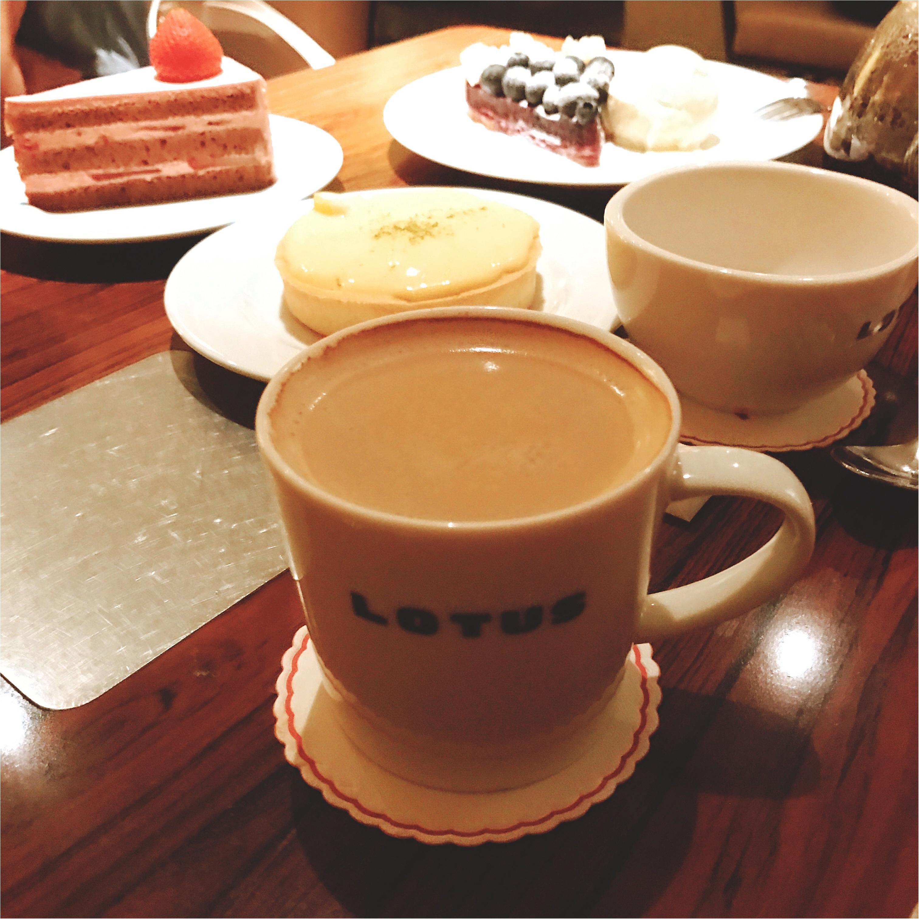 《夜カフェのススメ!》表参道のオシャレなカフェでオシャレな夜を・:*+._1