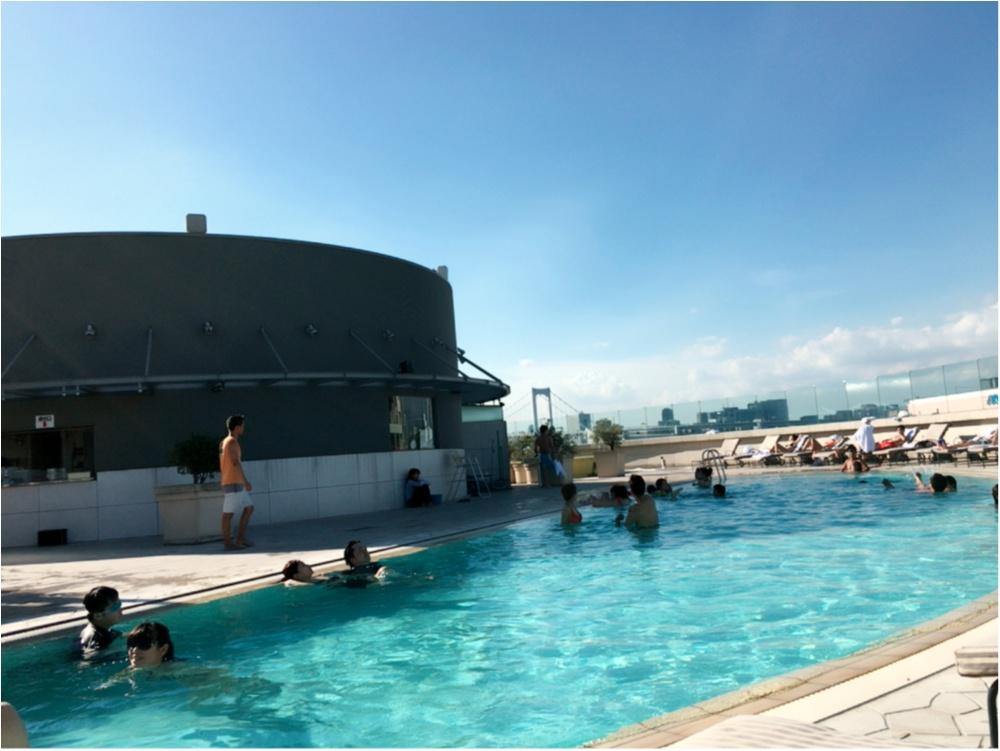 今年初♪プールに行ってきたよ♡ホテル グランパシフィック LE DAIBA♡_2