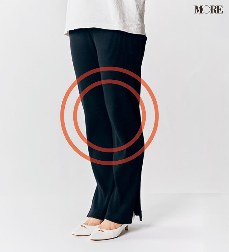 テーパードパンツ&フレアパンツ、どの靴と合わせるのがいちばんきれい? 全部の相性比べてみました!_6_2