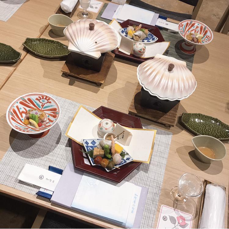【金沢旅行】加賀屋旅館での夕食_2