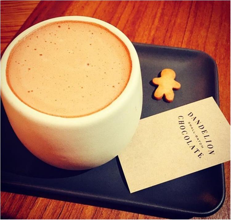 《サンフランシスコからやってきた注目のチョコレート工房♡》カカオ豆本来の味が楽しめるダンデライオンの絶品ホットチョコレートドリンク♡_6