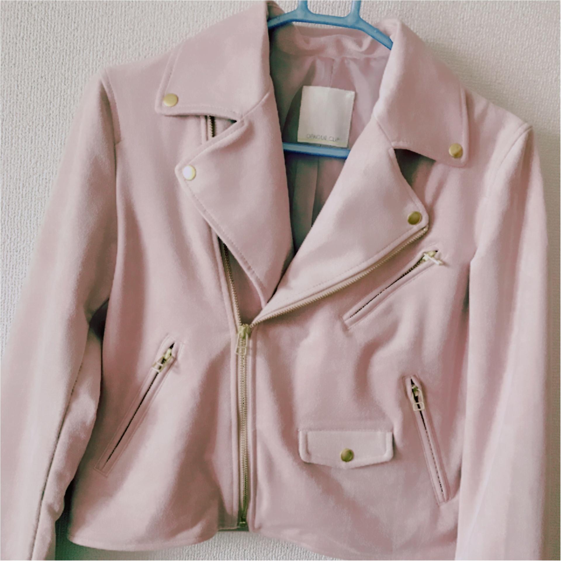 ★今年の気になるNo.1カラー『Pink』!初心者の私はまずはアウターから購入しました★_3
