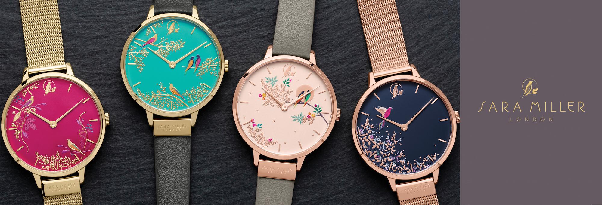 ロンドン発『サラミラーロンドン』の腕時計が日本初上陸!オフィスもデートもOKな華デザイン♡_1