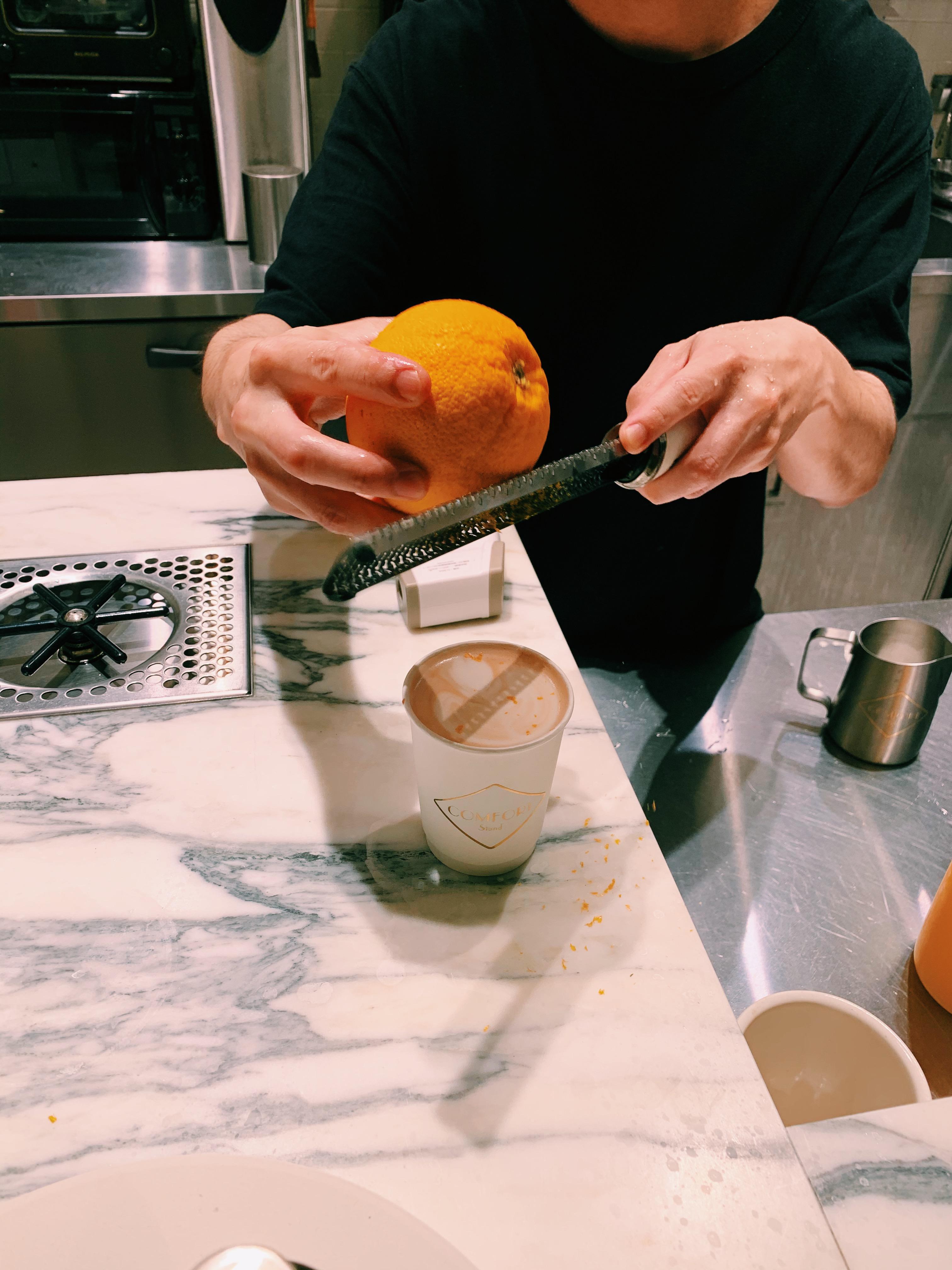 【おすすめカフェ】《オレンジ香るカフェモカ×オーツミルク》でヘルシーに♡_6