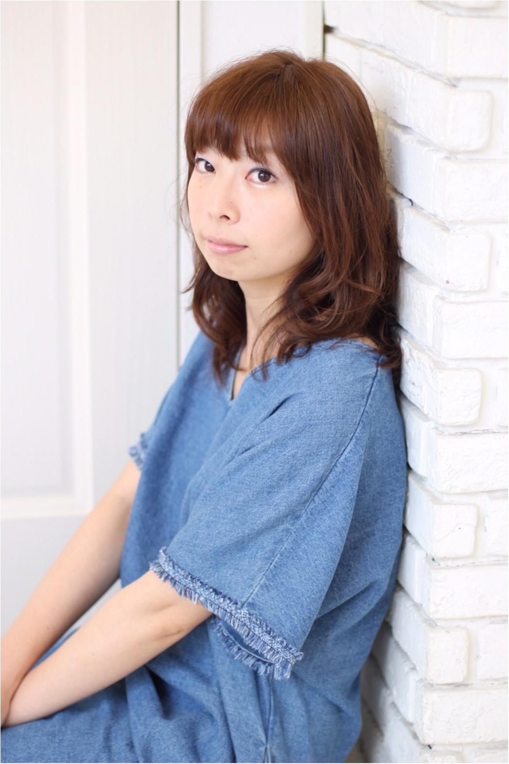 夏のセールで買ったもの♡モデル小泉里子さんコラボデニムワンピース_3