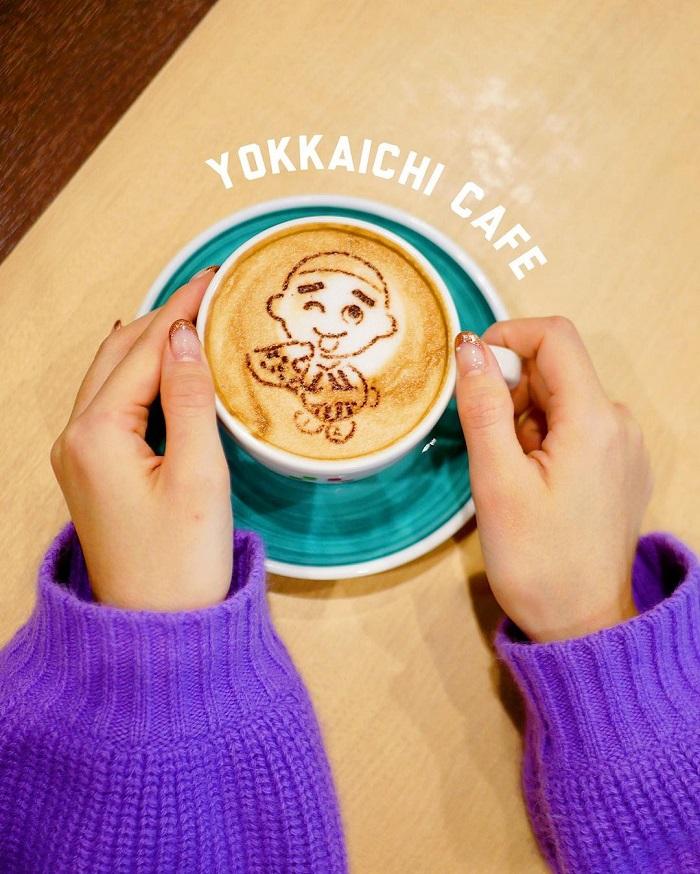 三重県・四日市のおすすめカフェ「カフェ チャオプレッソ」で、スペシャルなラテアートをオーダー!