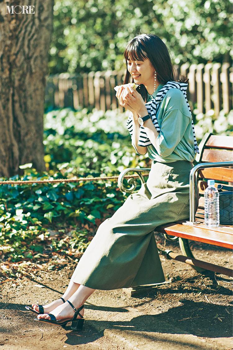 ひとりでいるのは好きだけど。佐藤栞里&逢沢りな着回し連載『毎日きれい色』10日目_3