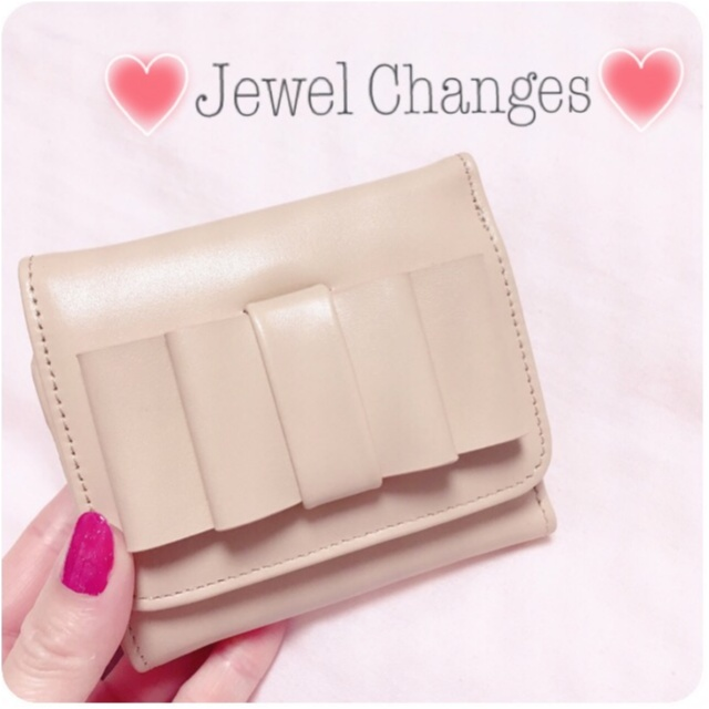 一年間頑張った自分へのご褒美に…♡【Jewel Changes】のリボンウォレットをget(﹡´◡`﹡ )_3