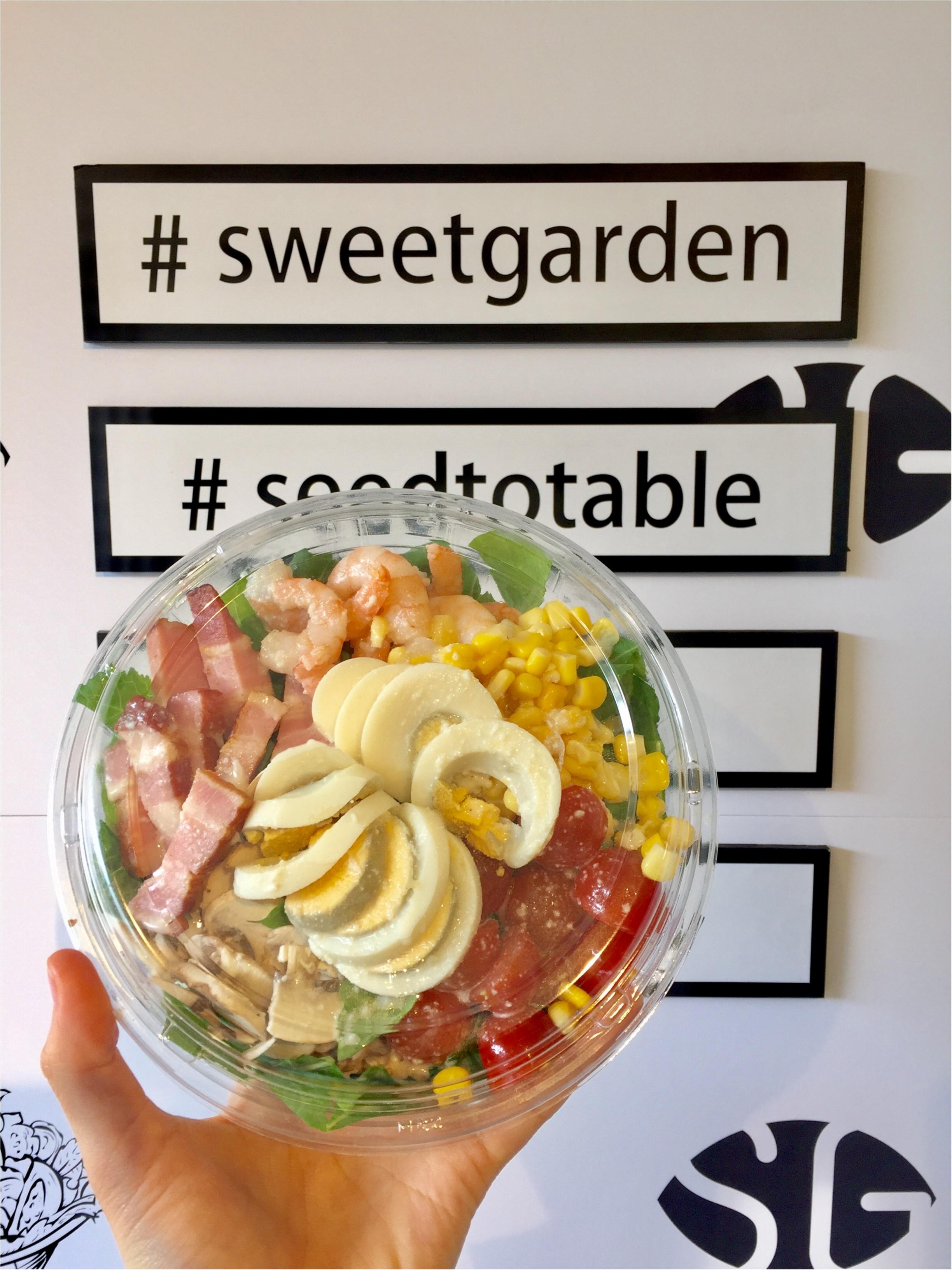 """【FOOD】代官山に、ボリューム満点のサラダ専門店""""Sweet Garden""""がOPEN!レセプションパーティーに行ってきました★_7"""