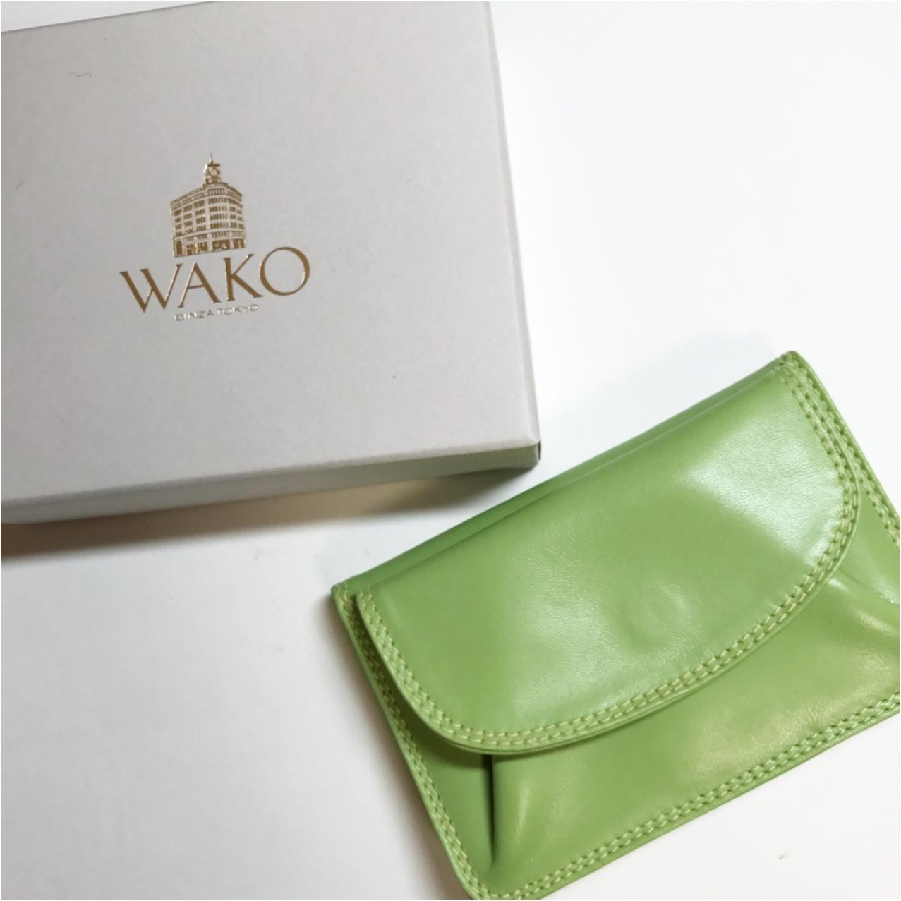 《ミニバッグの日のお供はコレ♡》和光の三つ折り財布がいちばん使いやすいっ!_1