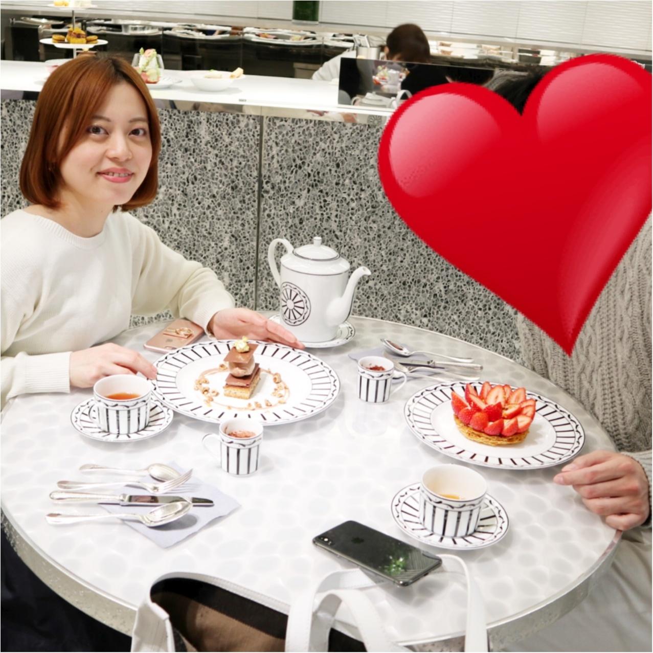 【銀座カフェ】ピエールエルメ監修《ディオールカフェ》で過ごすラグジュアリーなティータイム♡_7