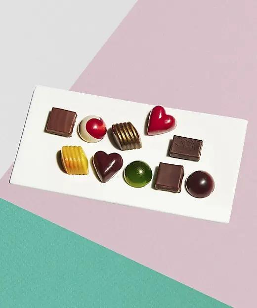 2021バレンタイン『シャンドワゾー』の「ボンボンショコラ 10個セット」
