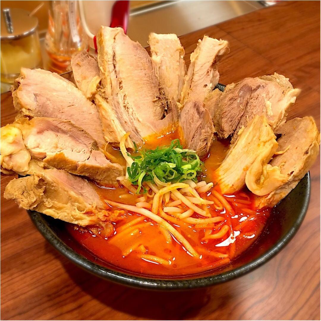 【29日:肉の日限定メニュー】フォトジェニックな辛味噌ラーメン♡_4