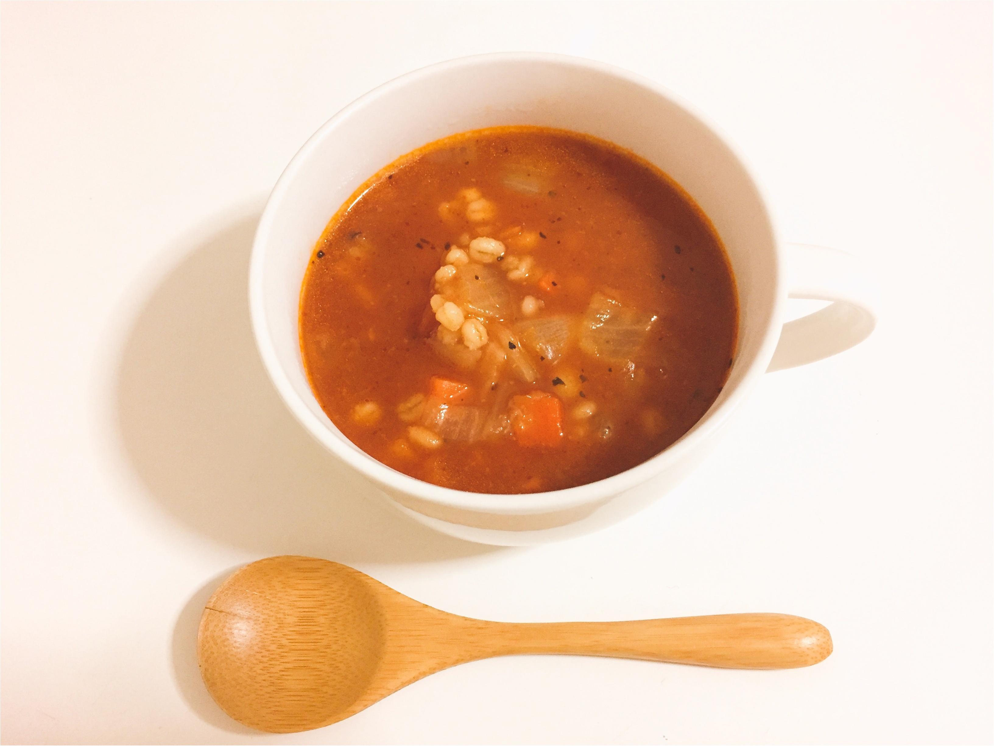 食べ過ぎた次の日には…電子レンジで簡単にできる!『朝のたべるスープ』がおすすめ♡*_2