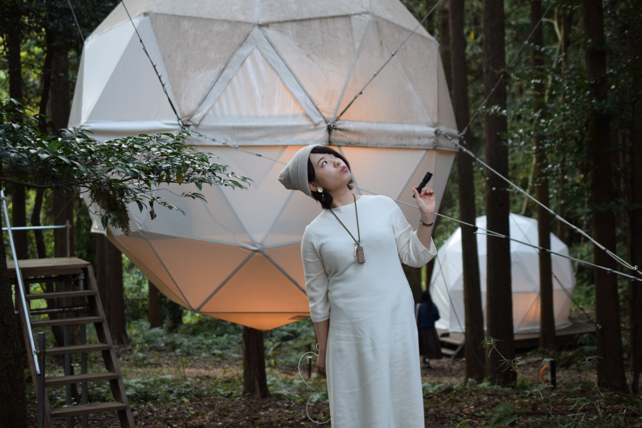 【女子旅におすすめ】森に浮かぶテントに泊まれちゃう♡《INN THE PARK》@沼津_7