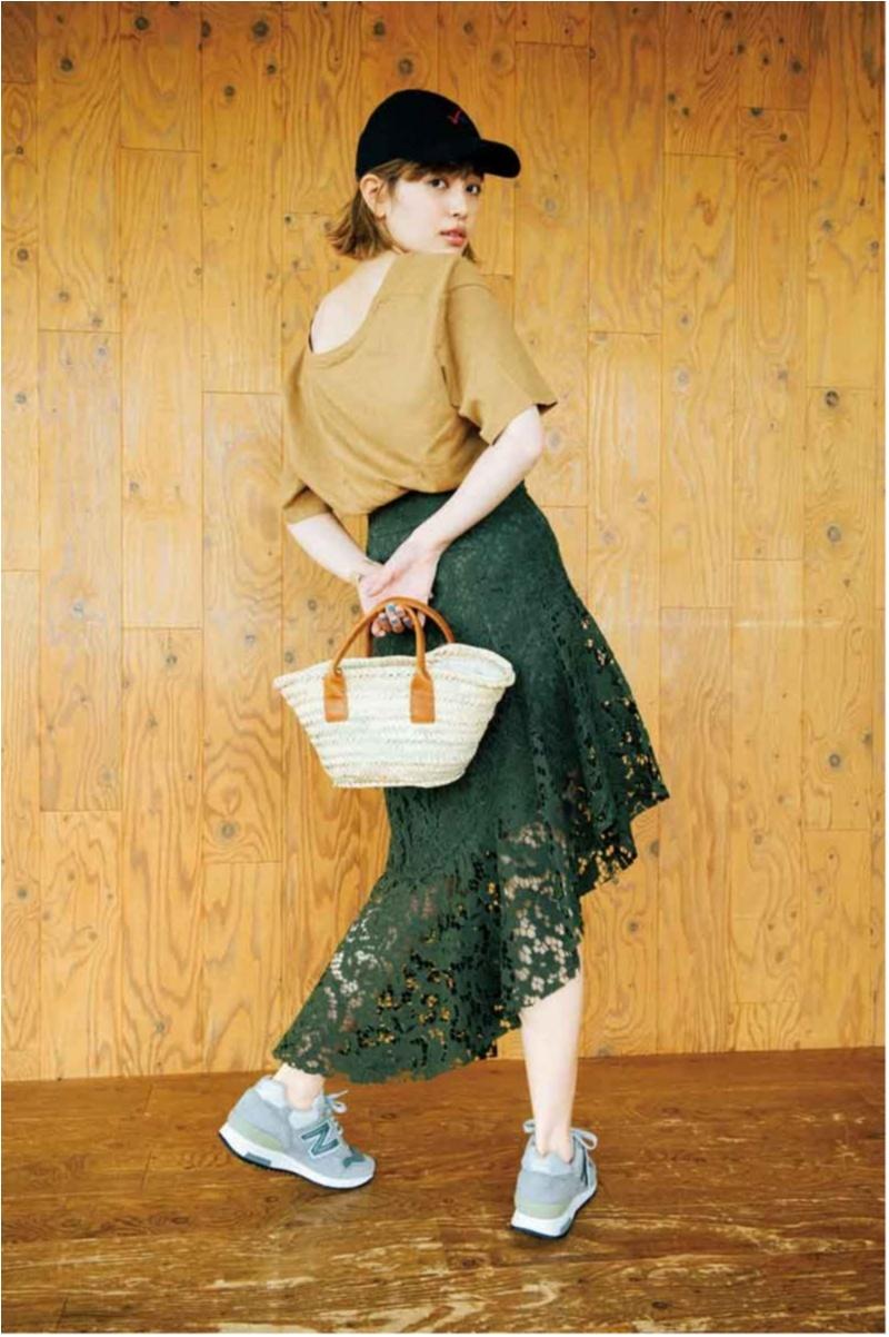 """スカートもパンツも""""ぺたんこ靴できれい""""が叶う♡【今週のファッション人気ランキング】_2"""