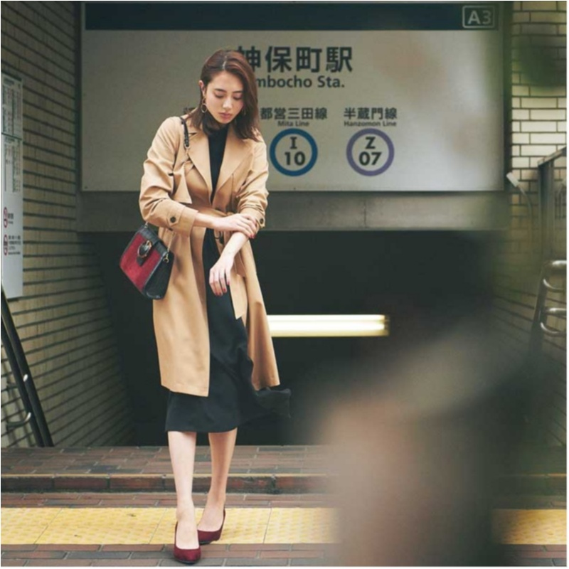 定番アウター【トレンチコート】の今どきコーデ10選    ファッション(2018年秋)_1_3