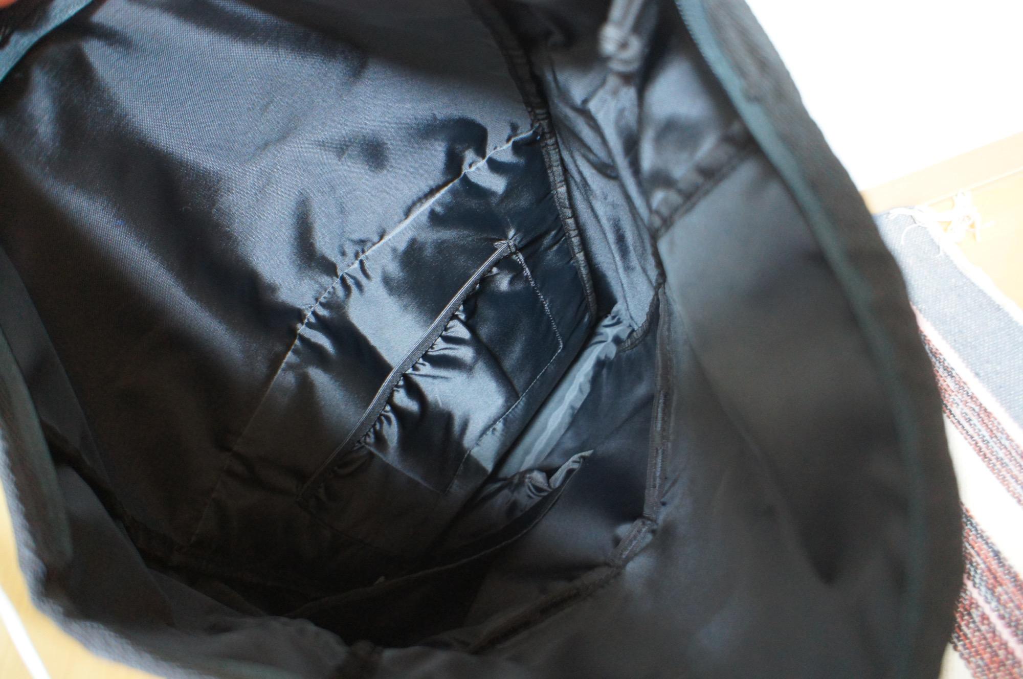 《リュック通勤女子必見❤️》【GU】のバックパックがたくさん入って優秀☻_3