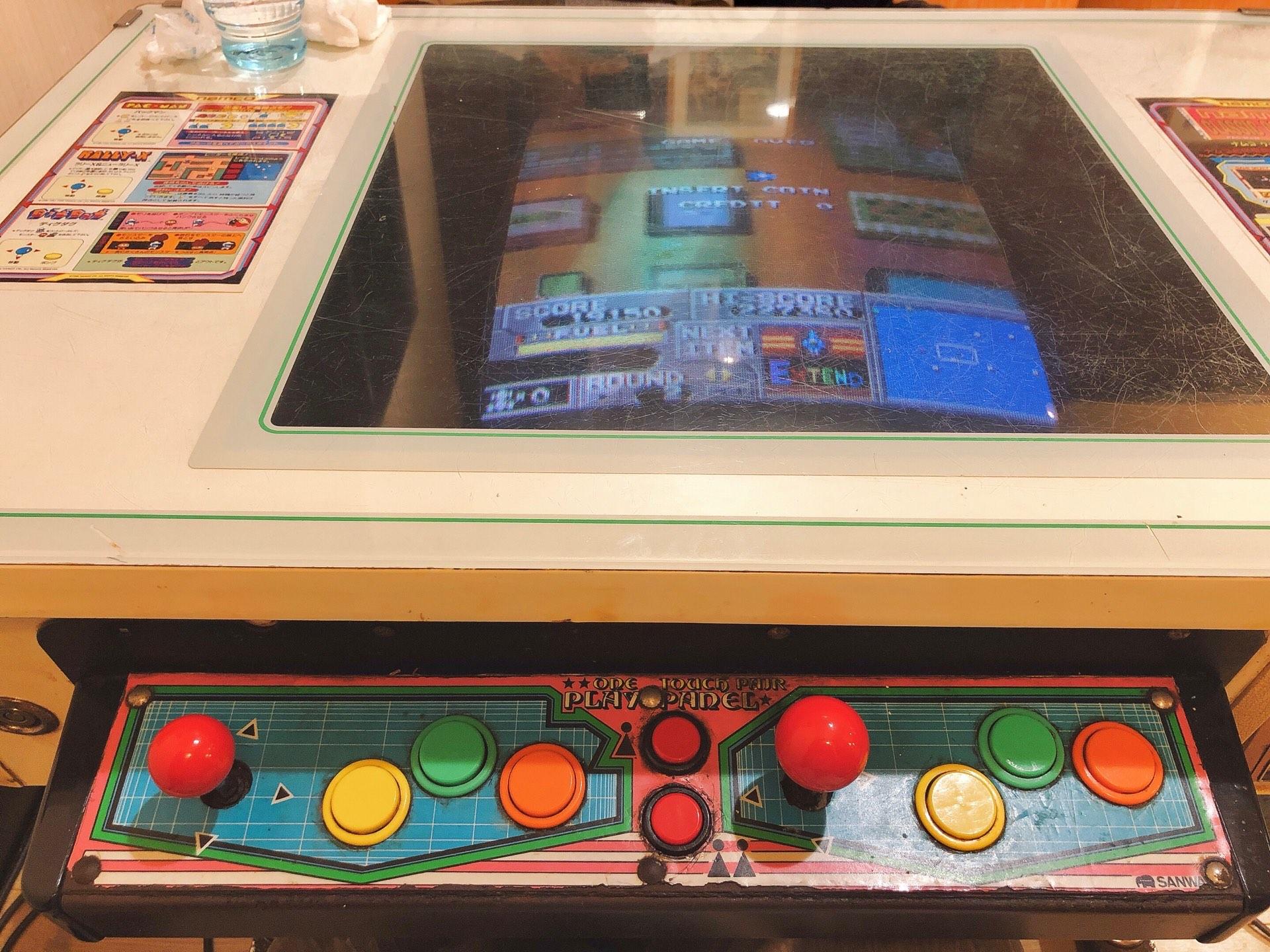 テーブルゲーム機写真