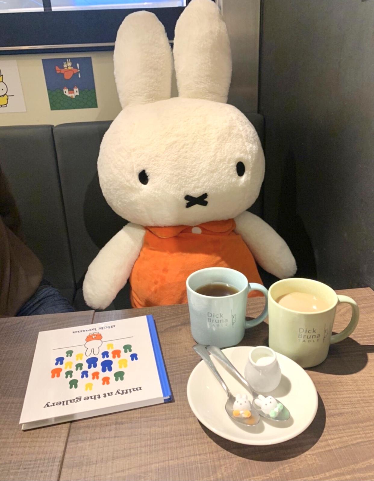 【今年の三月にOPEN】可愛すぎるミッフィーカフェ_1