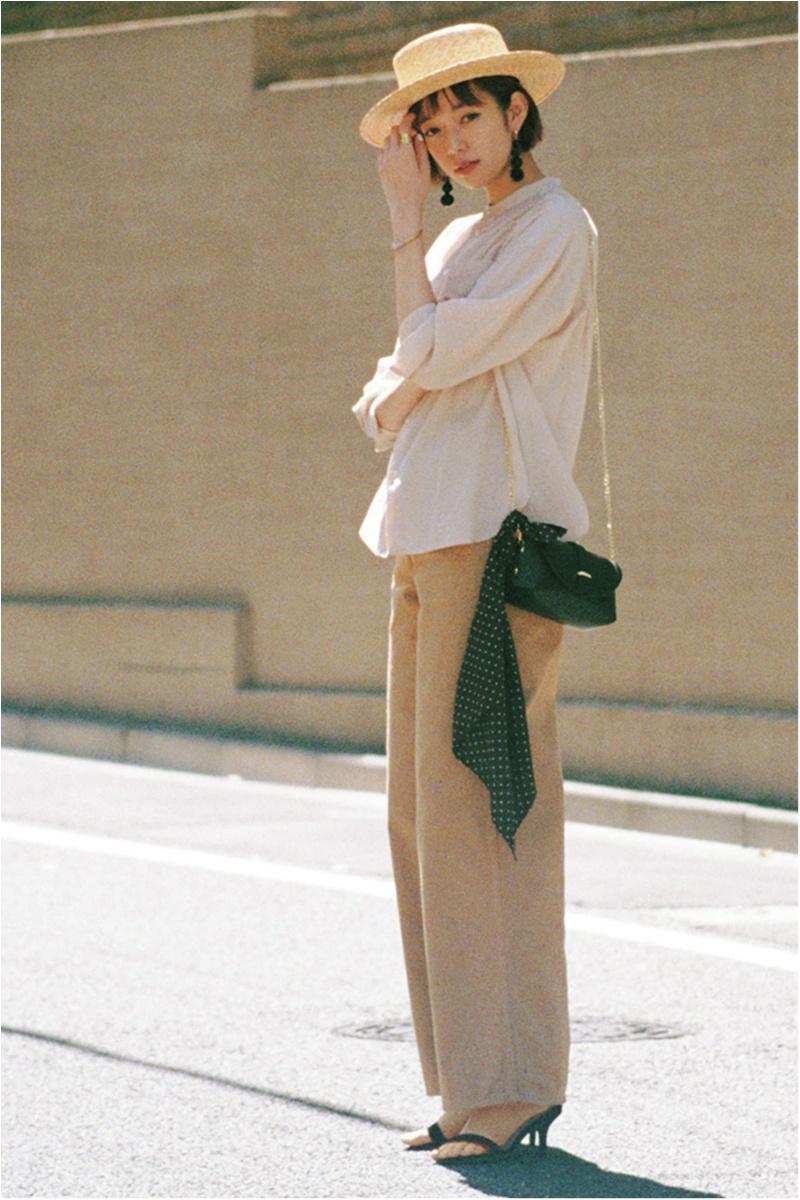 日焼け防止のマストアイテム 【帽子】の今どきコーデ15選 | ファッションコーデ_1_10
