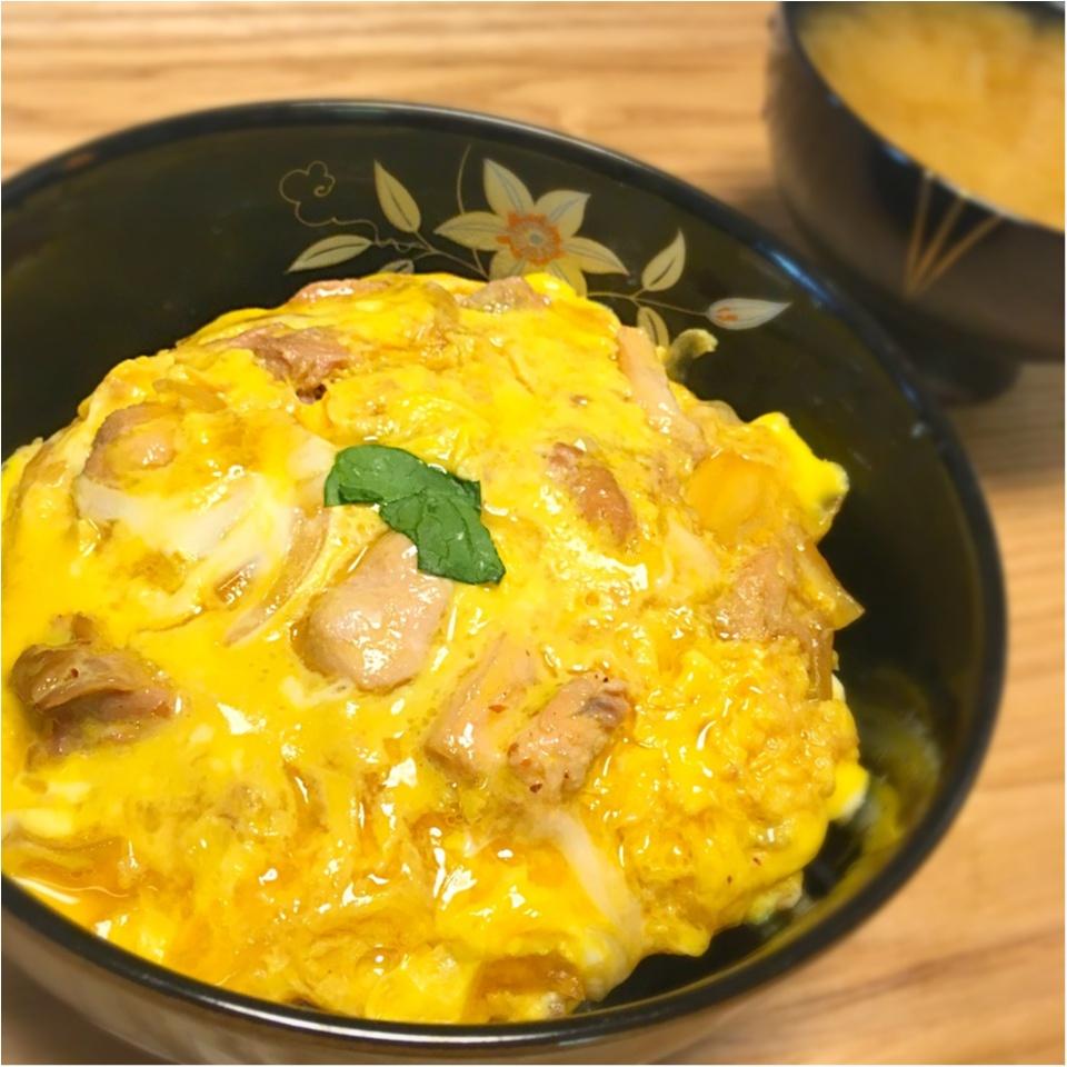 東京のブランド鶏を使った親子丼_1