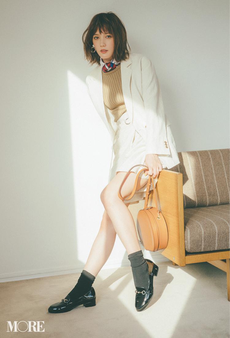本田翼が魅せるローファーコーデ♡ 大ヒット中アイテムでスカートもパンツもおしゃれになる!_1_5