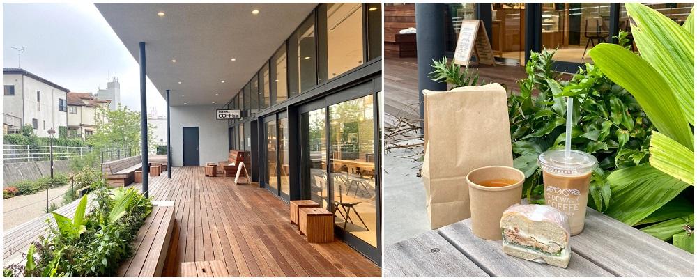 【東京おしゃれホテル】『MUSTARD HOTEL SHIMOKITAZAWA(マスタード™ ホテル シモキタザワ)』併設のカフェ「SIDEWALK COFFEE ROASTERS(サイドウォーク コーヒー ロースターズ)」のテラス席と朝食